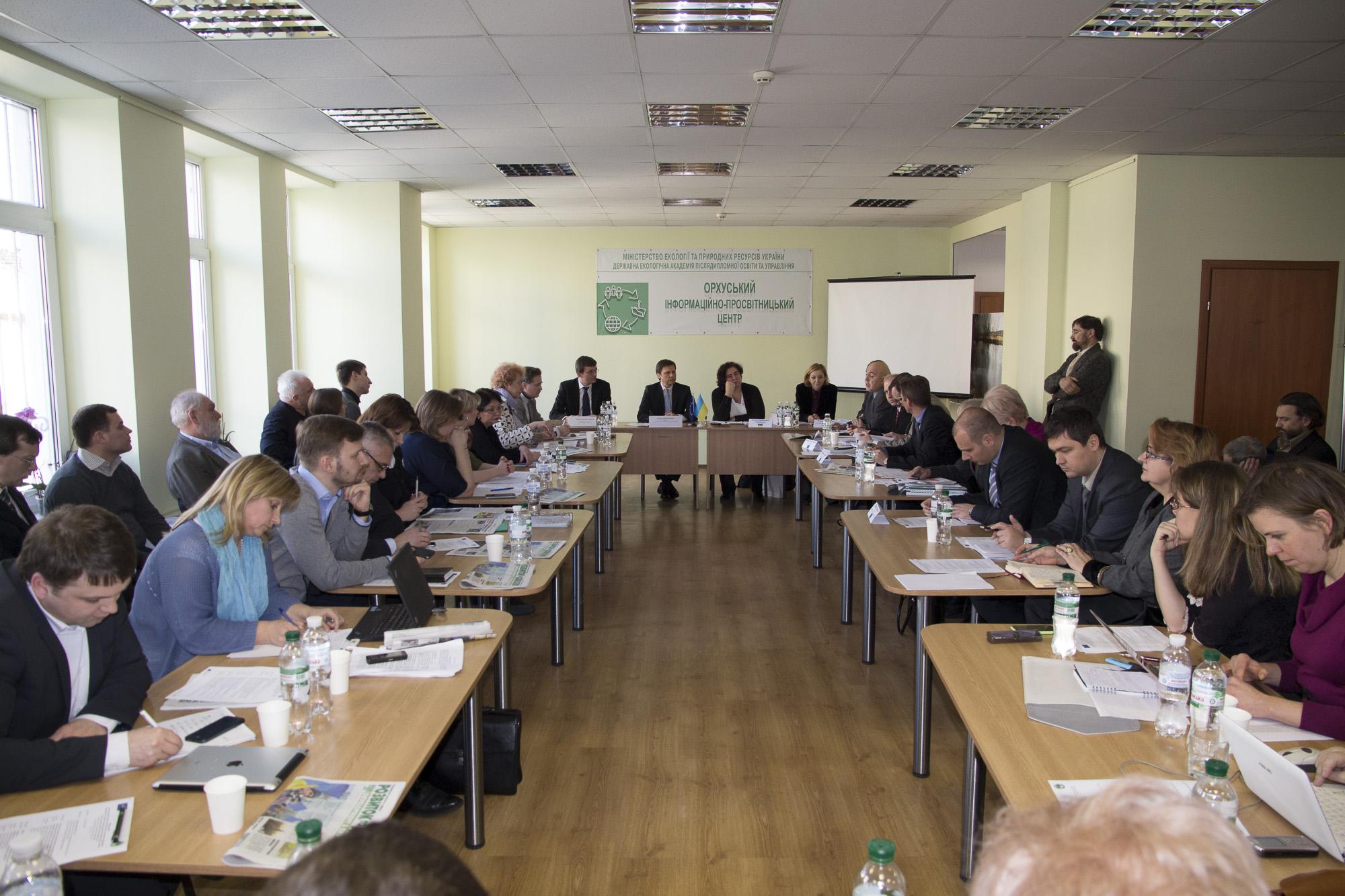 Делегація Європейського союзу зустрілася з представниками екологічної громадськості України