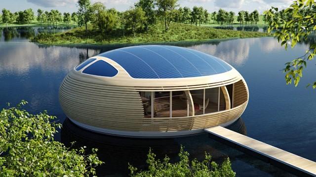 Італійці створили екологічний плаваючий житловий будинок