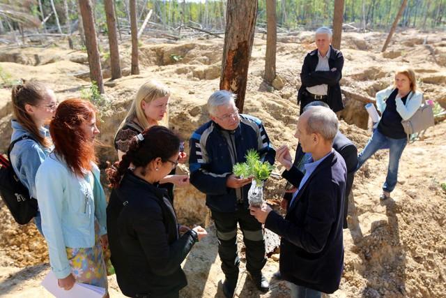 Делегація ПРООН відвідала місце незаконного видобування бурштину