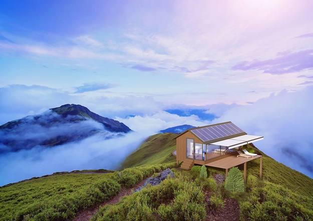 В Україні створили мобільний будинок, якому потрібна лише енергія сонця