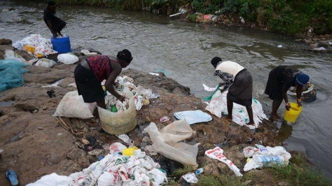 У Кенії заборонили поліетиленові пакети