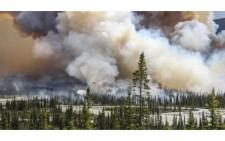 Конкурс екологічної фотографії Atkins CIWEM. Фотографом року стала Сара Ліндстром із знімком лісової пожежі у Канаді.